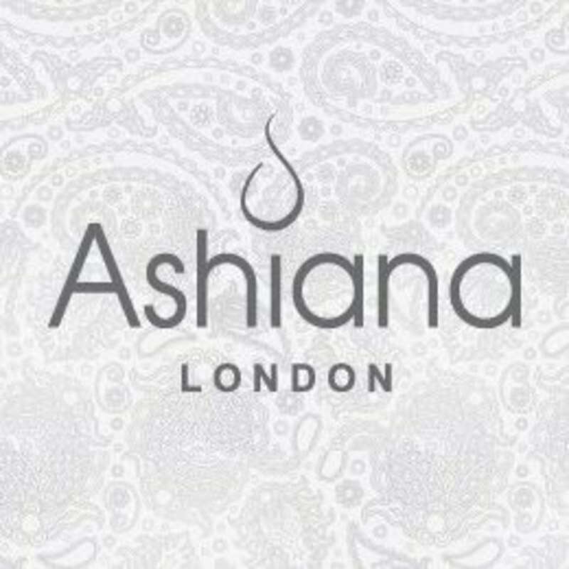 Ashiana London Katia  Long Necklace in Aqua