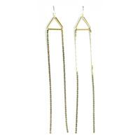 Serefina Vintage Chain Earrings