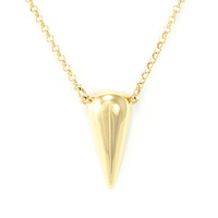 Viento Stilla Polished Pendant in Gold