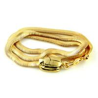 Viento Serpent Bracelet in Gold
