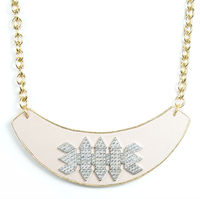 Sandy Hyun Pink Deco Collar