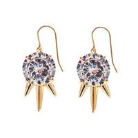 nOir Jewelry Drop Three Spike Earrings