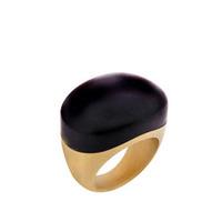 Lucas Jack Black Resin Ring