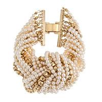 Urban Gem Knotted Pearl Bracelet
