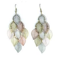 Urban Gem Leaf Earrings