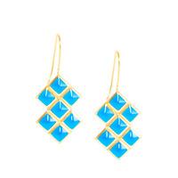 Lucas Jack Trixie Earrings in Electric Blue