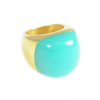Lucas Jack Pebble Ring in Turquoise
