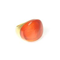 Lucas Jack Arch Ring in Orange Carnelian