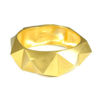 Lucas Jack Electro Bangle in Gold