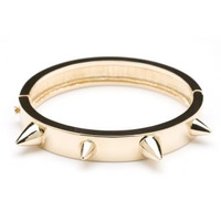 CC Skye Love Spike Bracelet in Gold