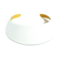 Ted Rossi White Python Collar Necklace