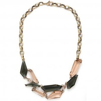 CC Skye Glass Shield Necklace