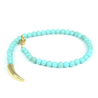 CC Skye Beaded Bracelet in Turquoise
