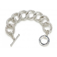 CC Skye Million Dollar Bracelet in Pave Silver