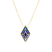 Lucas Jack Deco Diamond Necklace