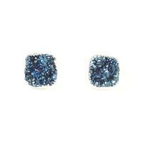 Robyn Rhodes Kourtney Earrings in Blue and Silver