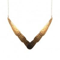 Robyn Rhodes Jasmine Necklace in Gold