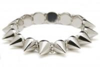 CC Skye Mercy Spike Bracelet in Silver