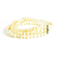 Urban Gem Peachy Fresh Water Pearl Bracelet