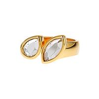 Isharya Mirror Gems Double Mirror Ring