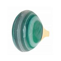 Isharya Tibetan Green Agate Ring
