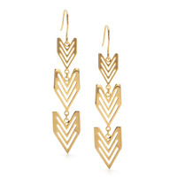 Gorjana Chevron Drop Earrings
