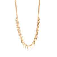 Urban Gem Spike the Punch Necklace in Gold