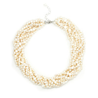 Urban Gem Layered Freshwater Pearls Necklace
