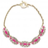 CC Skye Queen Rebel Necklace in Pink