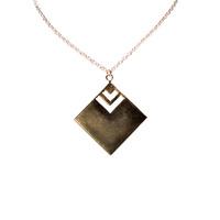 Angel Court Cipher Pendant Necklace