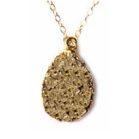 Robyn Rhodes Claire Necklace in Gold