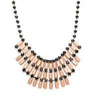 Urban Gem Tiered Neutral Necklace in Gold
