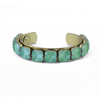 Loren Hope Sophia Adjustable Cuff in Teal