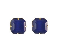 Loren Hope Sophia Studs in Navy