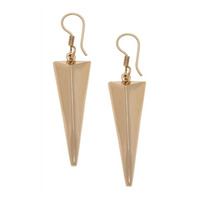 Charles Albert Alchemia 3D Triangle Earrings