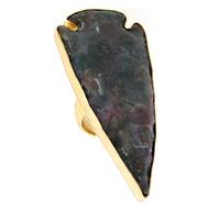 Charles Albert Alchemia Jasper Arrowhead Adjustable Ring