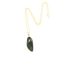 Charles Albert Alchemia Rainbow Obsidian Pendant Necklace