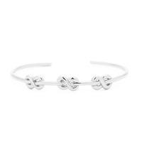 Gorjana Infinity Knot Cuff in Silver