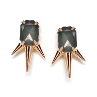 Urban Gem Triangle of Forces Earrings