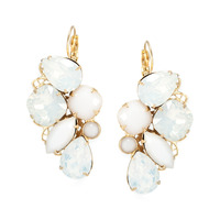 Liz Palacios Radiance Earrings in White