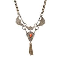 Angel Court Charlie Eweill Necklace in Orange