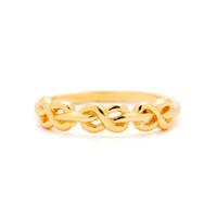 Gorjana Infinity Knot Ring in Gold