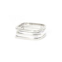 Gamine Zara Rings in Silver