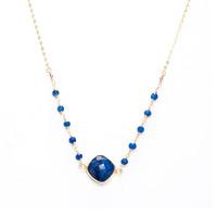 Charlene K Gemstone Necklace in Sapphire