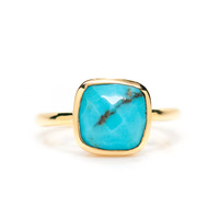 Gamine Rami Ring in Turquoise