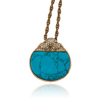 Samantha Wills Sunday at the Windsor Pendant Necklace in Turquoise