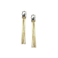 Urban Gem Big Break Earrings in Gold