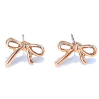 Urban Gem All Tied Together Studs in Gold