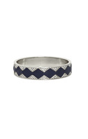 House of Harlow 1960 Sunburst Bangle in Navy and White
