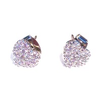 Urban Gem Shining Hearts Studs